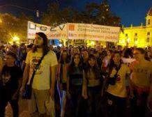 La UCEV s�ha sumat a les mobilitzacions en contra de la LOMQE