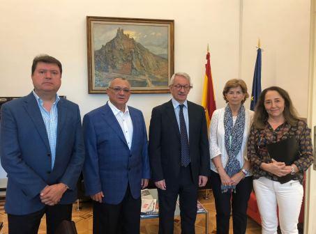 UECoE aborda las inquietudes de la escuela cooperativa con el nuevo Secretario de Estado de Educación y FP