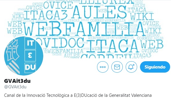 Educació habilita un canal de Twitter amb informació de les eines de què disposa la comunitat educativa