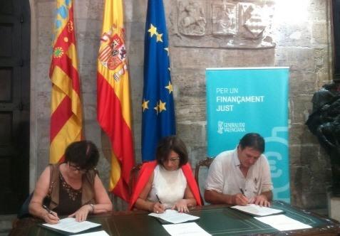 La UCEV s�adhereix al �Manifest per un Finan�ament Just per a la Comunitat Valenciana�