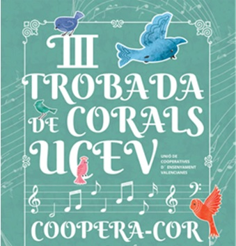 El Coopera-Cor de la UCEV actuarà el 7 de maig en les III Trobades de Corals que se celebren a Bunyol
