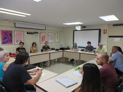 Es reuneix la Comissió organitzadora de la IV Trobada de Corals de la UCEV