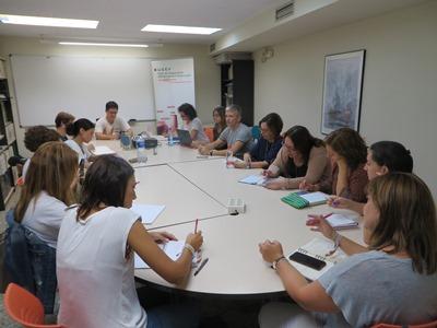 Les diferents comissions de treball de la UCEV inicien el nou curs