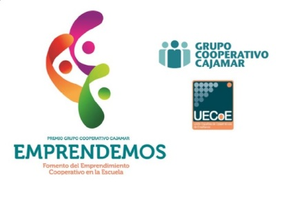 """IV Premio del Grupo Cooperativo Cajamar al """"Fomento del emprendimiento Cooperativo en la Escuela"""""""