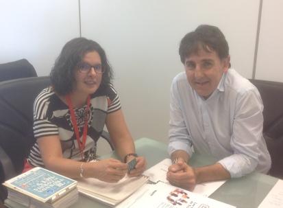El president de la UCEV es reuneix amb la nova directora general de Cooperativisme de la Generalitat