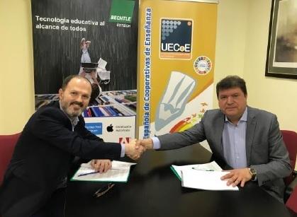 UECoE tanca un acord amb Bechtle Edtech per a l'adaptació tecnològica dels centres educatius