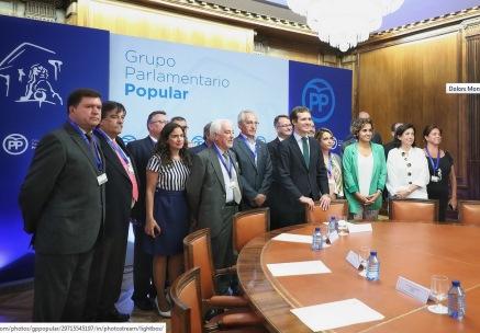 El vicepresident d'UECoE intervé en la reunió sobre Educació convocada pel grup Popular en el Congrés