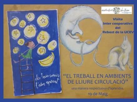 Així va anar la 'Visita intercooperativa'  a l'escola Infantil La Lluna de Castelló