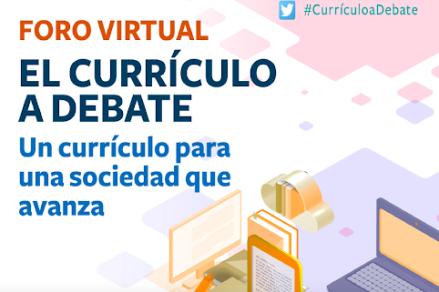 El ministeri d'Educació i FP convida a debatre sobre el currículum en un fòrum virtual obert
