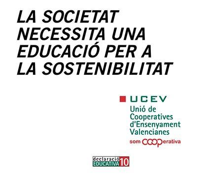 La UCEV presentarà la 10a Declaració Educativa de les cooperatives d'ensenyament el 8 de maig a València