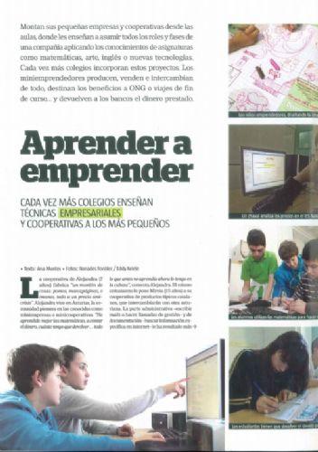 Aprender a emprender (artículo revista interviu, 2012)