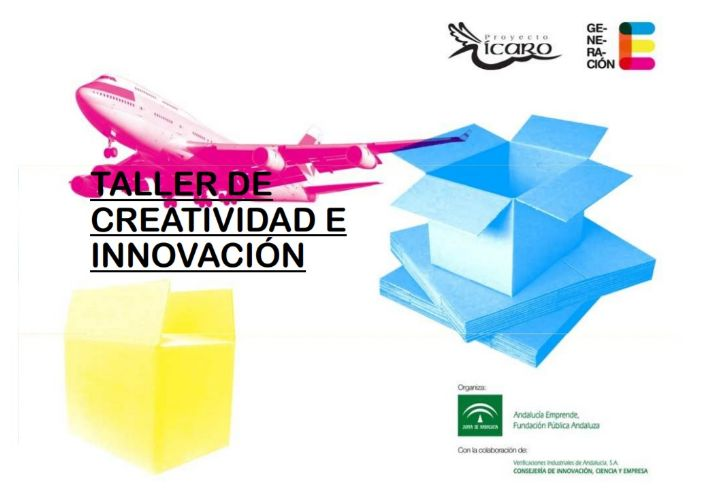 Taller de creativitat i innovació de la Junta d